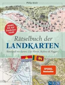 Philip Kiefer: Rätselbuch der Landkarten, Buch