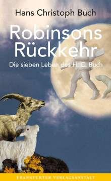 Hans Christoph Buch: Robinsons Rückkehr, Buch