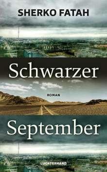 Sherko Fatah: Schwarzer September, Buch