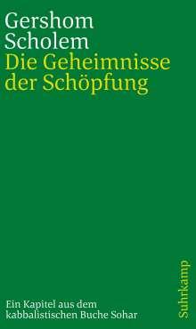 Gershom Scholem: Die Geheimnisse der Schöpfung, Buch