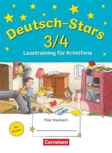 Ursula Kuester: Deutsch-Stars 3/4. Lesetraining für Krimifans, Buch