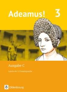 Volker Berchtold: Adeamus! - Ausgabe C Band 3 - Latein als 2. Fremdsprache, Buch