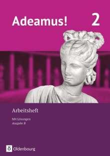 Volker Berchtold: Adeamus! - Ausgabe B Band 2 - Latein als 1. Fremdsprache - Arbeitsheft, Buch
