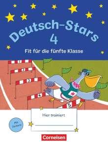 Olga Brinster: Deutsch-Stars 4. Schuljahr - Fit für die 5. Klasse, Buch