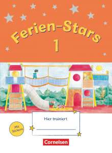 Jasmin Brune: Ferien-Stars 1. Schuljahr - Übungsheft, Buch
