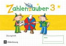 Bettina Betz: Zahlenzauber - Mathematik für Grundschulen - Materialien zu den Ausgaben 2016 und Bayern 2014 - 3. Schuljahr. Übungsheft - Mit Lösungen, Buch