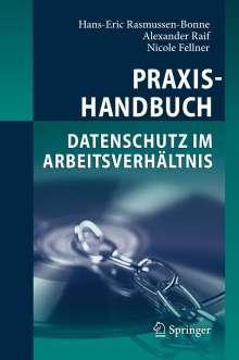 Hans-Eric Rasmussen-Bonne: Praxishandbuch Datenschutz im Arbeitsverhältnis, Buch