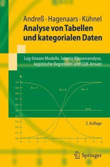 Hans-Jürgen Andreß: Analyse von Tabellen und kategorialen Daten, Buch