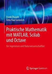 Frank Thuselt: Praktische Mathematik mit MATLAB, Scilab und Octave, Buch