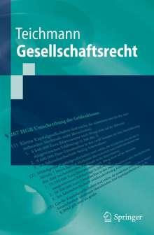 Christoph Teichmann: Gesellschaftsrecht, Buch