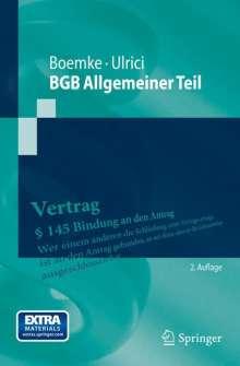 Burkhard Boemke: BGB Allgemeiner Teil, Buch