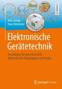 Jens Lienig: Elektronische Gerätetechnik, Buch
