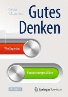Denise D. Cummins: Gutes Denken, Buch