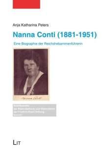 Anja Katharina Peters: Nanna Conti (1881-1951), Buch