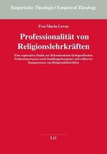 Eva-Maria Leven: Professionalität von Religionslehrkräften, Buch