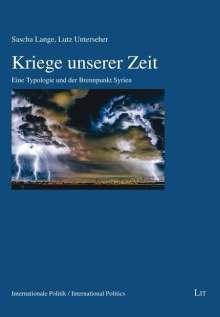 Sascha Lange: Kriege unserer Zeit, Buch