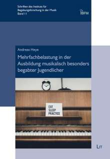 Andreas Heye: Mehrfachbelastung in der Ausbildung musikalisch besonders begabter Jugendlicher, Buch