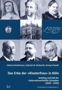 """Helmut Heckelmann: Das Erbe der """"Klosterfrau"""" in Köln, Buch"""