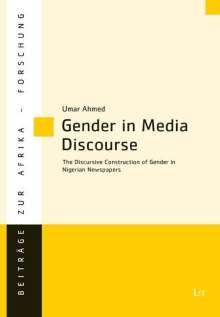 Umar Ahmed: Gender in Media Discourse, Buch