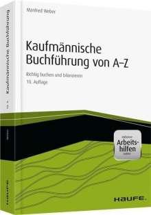 Manfred Weber: Kaufmännische Buchführung von A-Z - inkl. Arbeitshilfen online, Buch