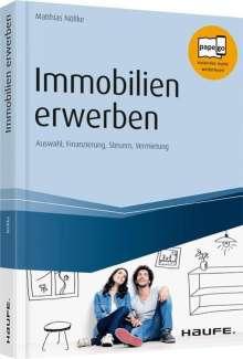 Matthias Nöllke: Immobilien erwerben, Buch