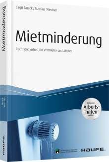 Birgit Noack: Mietminderung - inkl. Arbeitshilfen online, Buch
