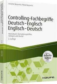 Annette Bosewitz: Controlling-Fachbegriffe Deutsch-Englisch, Englisch-Deutsch - inkl. Arbeitshilfen online, Buch