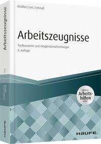 Thorsten Knobbe: Arbeitszeugnisse - inkl. Arbeitshilfen online, Buch