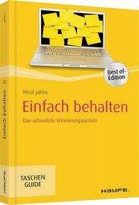 Nicol Jahns: Einfach behalten, Buch