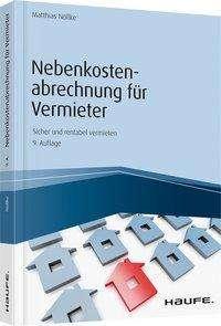 Matthias Nöllke: Nebenkostenabrechnung für Vermieter, Buch