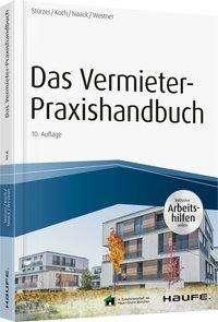 Rudolf Stürzer: Das Vermieter-Praxishandbuch - inkl. Arbeitshilfen online, Buch