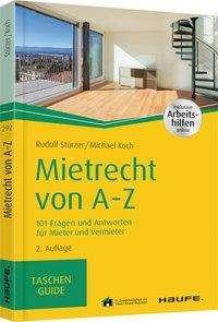 Rudolf Stürzer: Mietrecht von A-Z, Buch