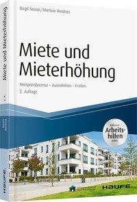 Birgit Noack: Miete und Mieterhöhung - inkl. Arbeitshilfen online, Buch