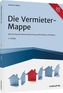Matthias Nöllke: Die Vermieter-Mappe, Buch