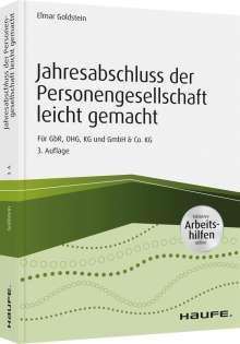 Elmar Goldstein: Jahresabschluss der Personengesellschaft leicht gemacht - inkl. Arbeitshilfen online, Buch