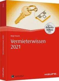Birgit Noack: Vermieterwissen 2021 - inkl. Arbeitshilfen online, Buch
