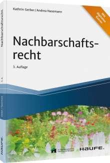 Kathrin Gerber: Nachbarschaftsrecht, Buch