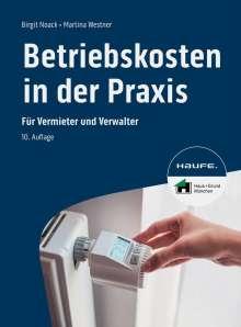 Birgit Noack: Betriebskosten in der Praxis - inkl. Arbeitshilfen online, Buch