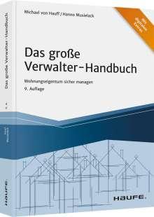 Michael Hauff: Das große Verwalter-Handbuch - inkl. Arbeitshilfen online, Buch