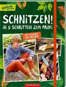 Claudia Seidel: Schnitzen!, Buch