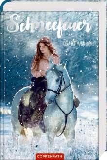Kyra Dittmann: Schneefeuer, Buch