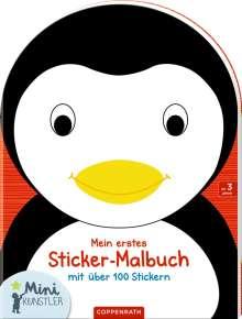 Mein erstes Sticker-Malbuch: Pinguin, Buch