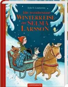Erik Ole Lindström: Die wundersame Winterreise der Selma Larsson, Buch