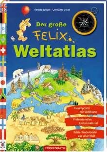 Annette Langen: Der große Felix-Weltatlas, Buch