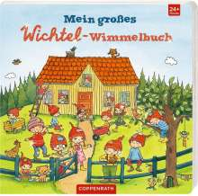 Mein großes Wichtel-Wimmelbuch, Buch