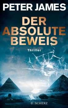 Peter James: Der absolute Beweis, Buch