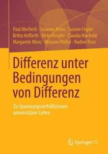 Paul Mecheril: Differenz unter Bedingungen von Differenz, Buch