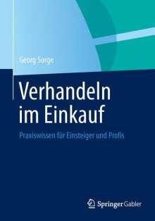 Georg Sorge: Verhandeln im Einkauf, Buch