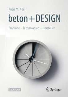 Antje Maria Abel: beton + DESIGN, Buch