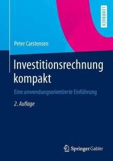 Peter Carstensen: Investitionsrechnung kompakt, Buch